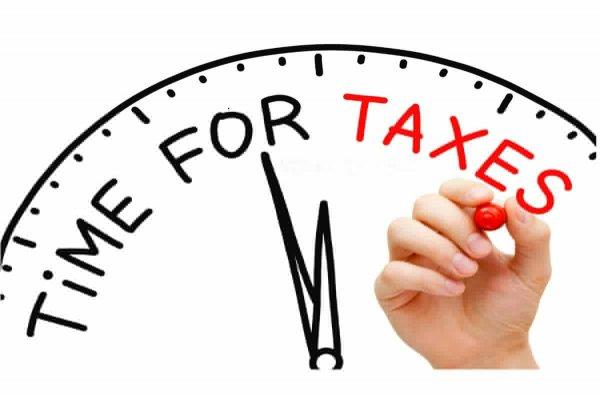 Налоговая декларация увеличилась на 38 пунктов.