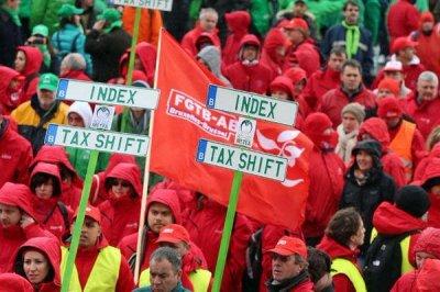 Пария N-VA  нашла способ  воздействовать на профсоюзы.